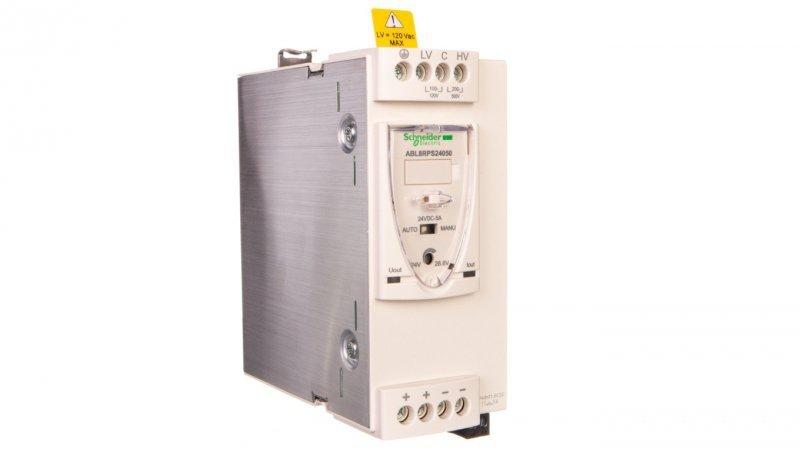 Zasilacz impulsowy 100-120V/200-500V AC/24V DC 120W 5A ABL8RPS24050