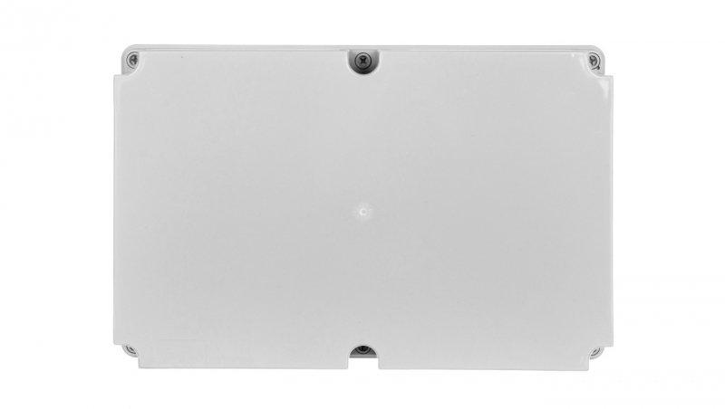 Puszka n/t hermetyczna pusta bez osłabień 348x228x166 IP65 szara PH-5B.1 28.54