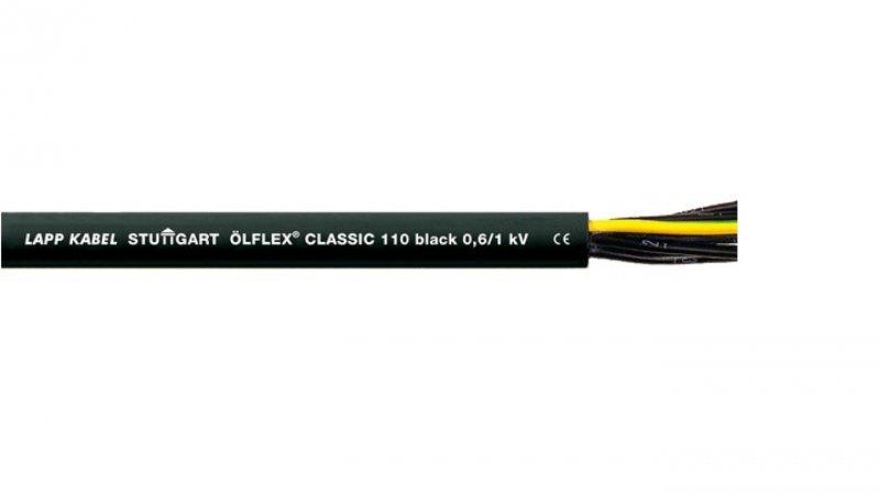 Przewód sterowniczy OLFLEX CLASSIC 110 Black 0,6/1kV 5G4 1120361 /bębnowy/