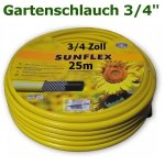 """Gartenschlauch Sunflex 3/4"""" 25 Meter Lang"""