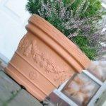 Blumentopf Pflanztopf Massiv decora 45 terrakotta