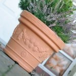 Blumentopf Pflanztopf Massiv decora 30 terrakotta