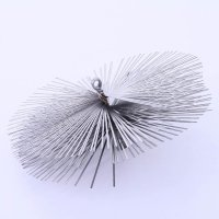 Schornsteinbesen Kaminbesen aus Federstahl 50cm