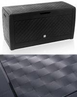 Gartenbox Auflagenbox Truhe Box Kachel-Anthrazit