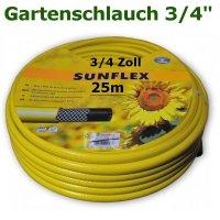 Gartenschlauch Sunflex 3/4 25 Meter Lang