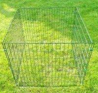 Drahtkomposter 660 L grün