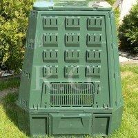 Thermokomposter 600 L dunkelgrün