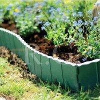 Gartenzaun Rasenkante 5,80m grün