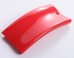 Handlauf Kunststoffhandlauf PCV Geländer 40x8 Farbe Rot