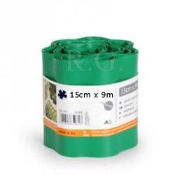 Rasenkante 15cm x 9m in grün