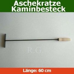 Aschekratze Glutkratze Kaminbesteck 60cm