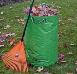 Gartenabfallsack Laubsammler Gartenkorb Laubsack faltbarer Gartensack 75cm