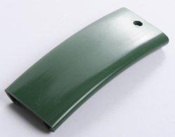 Handlauf Kunststoffhandlauf PCV Geländer 40x8 Farbe Grün