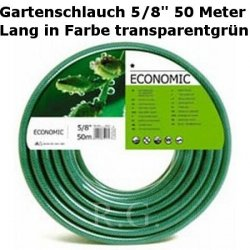 "Gartenschlauch Econ 5/8"" 50 Meter Lang"