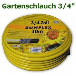 """Gartenschlauch Sunflex 3/4"""" 30 Meter Lang"""