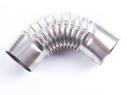 Ofenknie Bogen 90° Knie Ofenrohr Winkel 180 mm