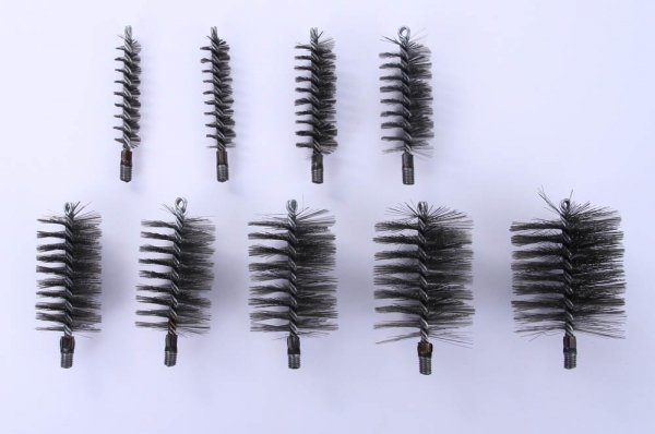 Heizkesselbürste Kaminbesen aus Draht 30mm