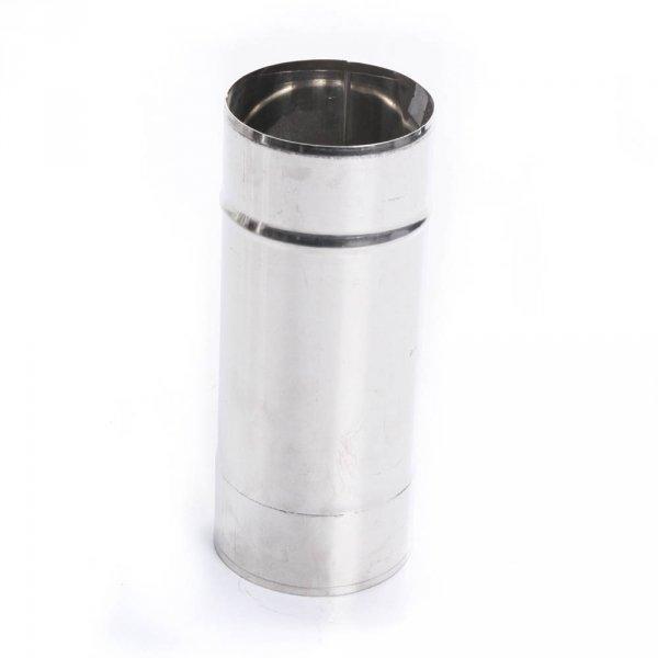 Edelstahl Ofenrohr 250mm Rohr Kaminrohr Rauchrohr 80mm Ø
