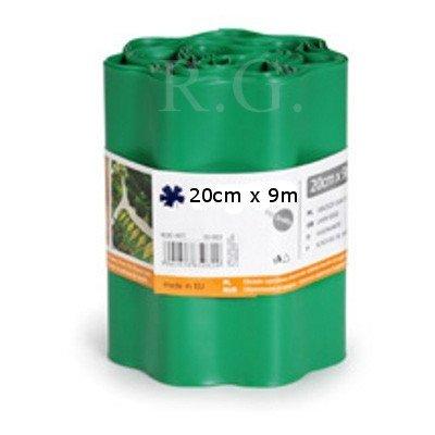 Rasenkante 20cm x 9m in grün