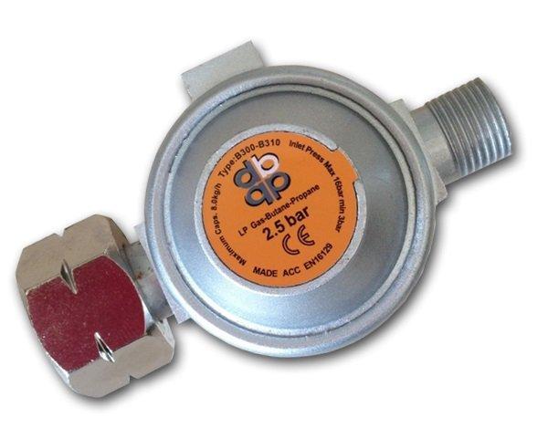 Druckregler Druckminderer Gasregler Regler für Abflammgerät 2,5 bar