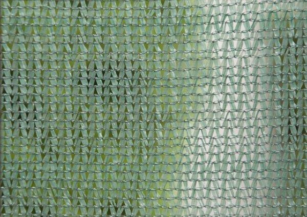 1 x 25 Meter 60 g/m2 Schattiernetz Schattiergewebe Sonnenschutz Zaunblende