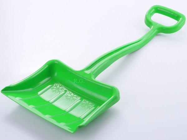 Schneeschaufel Schneeschieber für Kinder Grün