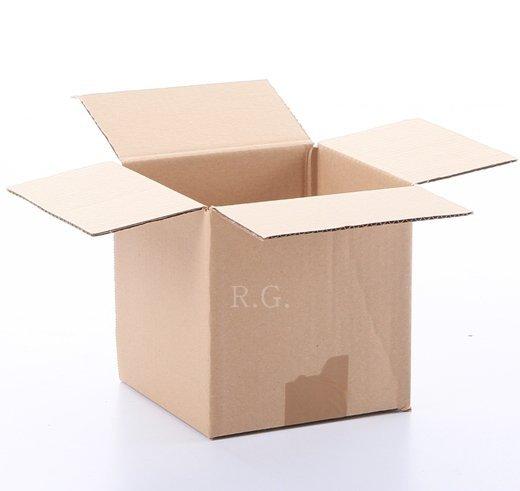 100x Faltkarton Karton 150x150x150