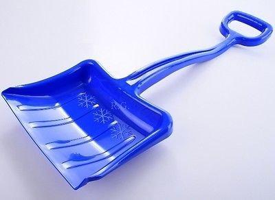 Schneeschaufel Schneeschieber für Kinder Blau