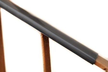 Handlauf Kunststoffhandlauf PCV Geländer 40x8 Farbe Hellgrau