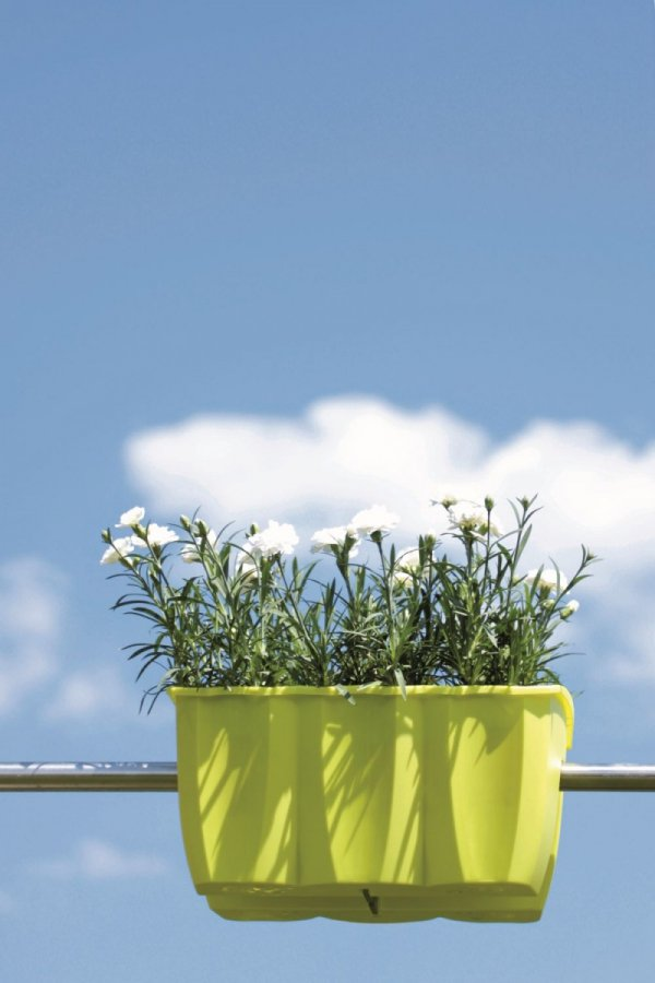 Blumenkasten Balkonkasten crown 400 lime