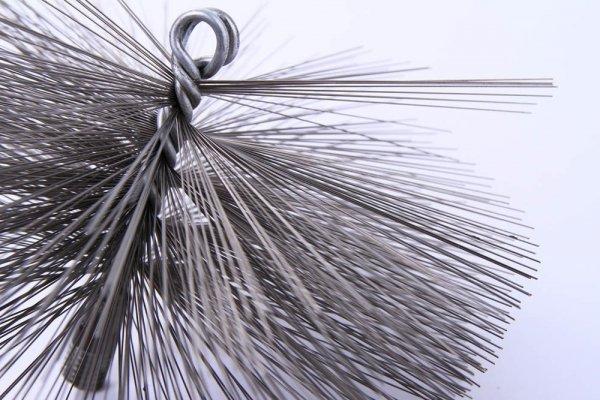 Schornsteinbesen Kaminbesen aus Stahl 17,5cm