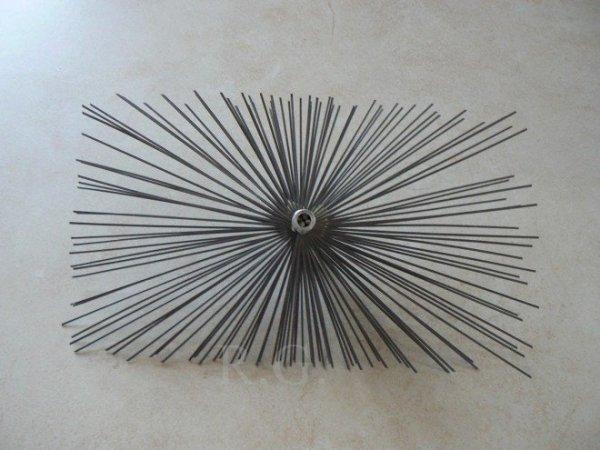 Schornsteinbesen Rechteckig Kaminbesen aus Stahl 22 x 28cm