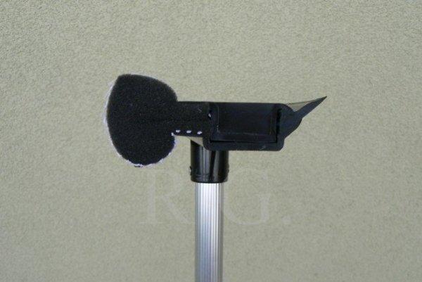 Fensterwischer mit Teleskop-Stiel aus Aluminium