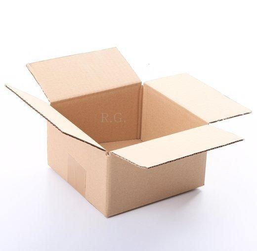 200x Faltkarton Karton 150x150x80