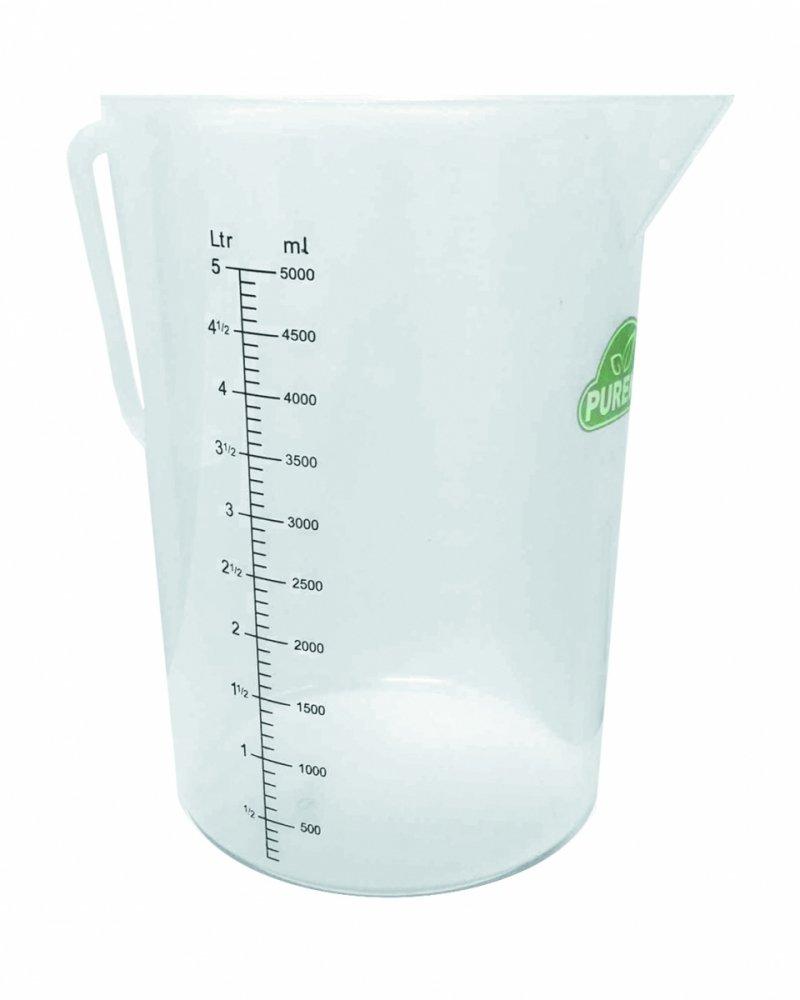 Miarka 5 litrów do soków i napojów