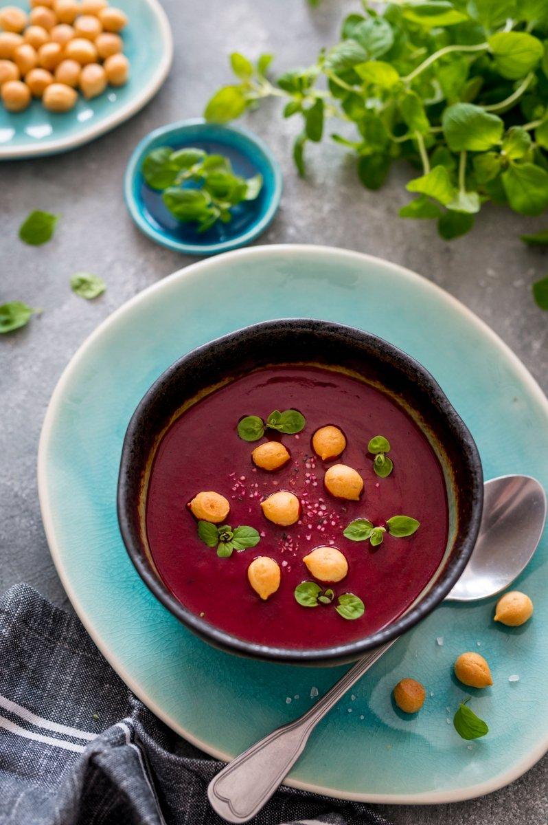 Zupa krem z buraczków czerwonych zagęszczona 1,1 kg = 2,5l zupy