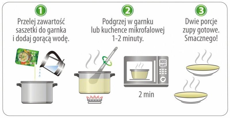 Zupa ogórkowa zagęszczona 350g = 2 porcje