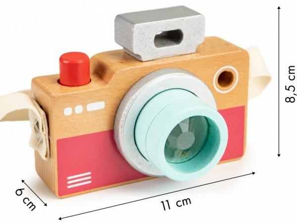 Fotoapparat Holz Kaleidoskop Tasche Spielzeug Foto Miniatur Kleinkind Spielzeug Rollenspiel Fotograf