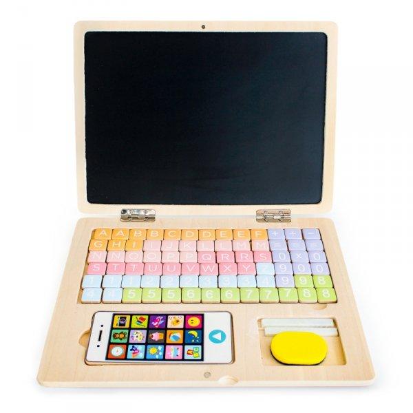 Computer Laptop Notebook Holzspielzeug Kinderspielzeug Lernspielzeug Kinderspiel