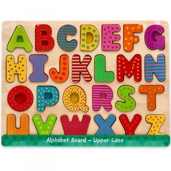 Steckpuzzle ABC GROßBUCHSTABEN Alphabet Lernspielzeug