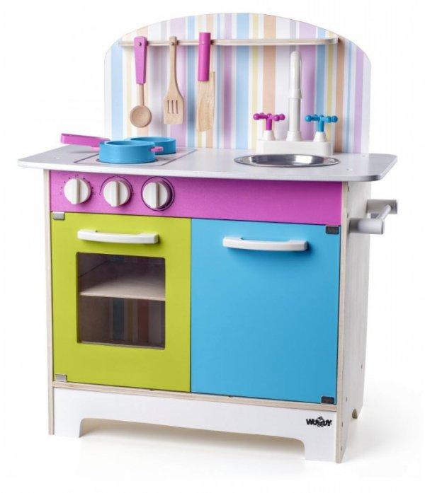 Spielküche BUNT Holz Kind Kinderküche