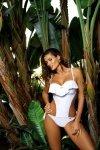 Kostium kąpielowy Carmen Bianco M-468W (7) Wiązany