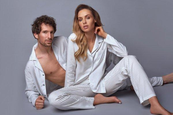 Piżama Angelina SAL-PY-1173 Biała