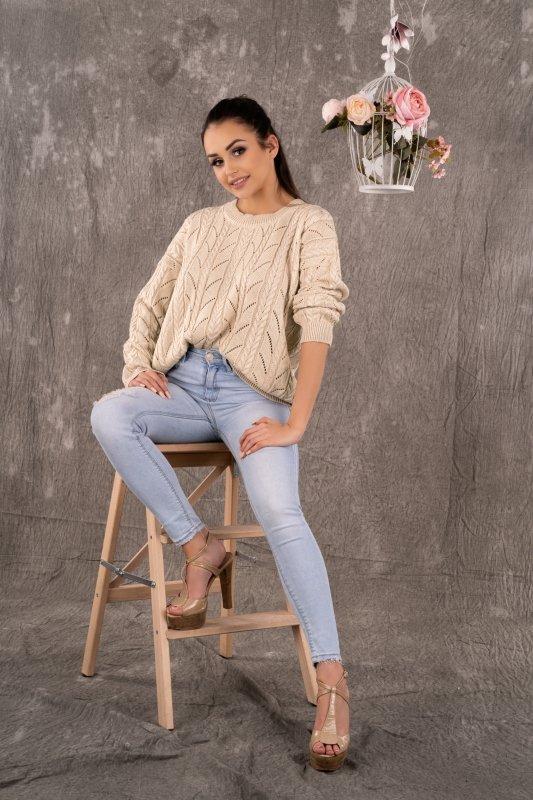 Sweter Marynesta Beige