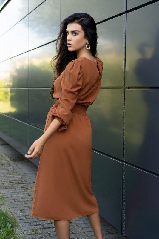 Sukienka Bouquetina Camel