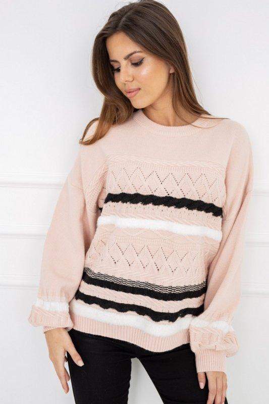 Sweter Caroline Soft Pink G2538