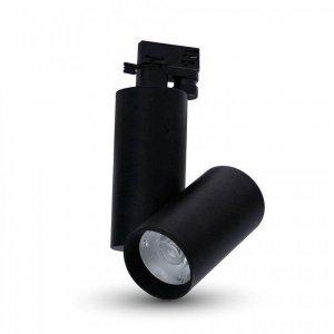 Oprawa Track Light LED V-TAC 30W 24st Czarny VT-4635 3000K 2700lm 5 Lat Gwarancji