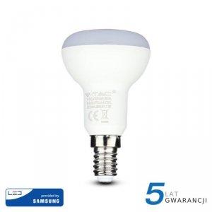 Żarówka LED V-TAC SAMSUNG CHIP 6W E14 R50 VT-250 4000K 470lm 5 Lat Gwarancji