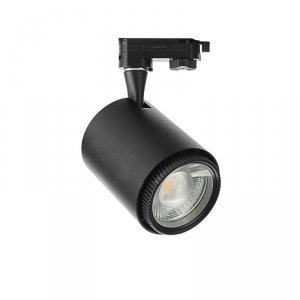 Oprawa Track Light LED V-TAC 18W COB Czarny VT-4718 2700K-6400K 1450lm 5 Lat Gwarancji