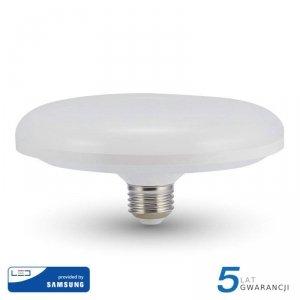 Żarówka LED V-TAC SAMSUNG CHIP 24W E27 fi200 UFO VT-224 4000K 1900lm 5 Lat Gwarancji